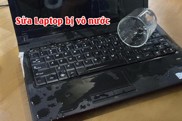Laptop bị vô nước sửa ở đâu Tp HCM - 1