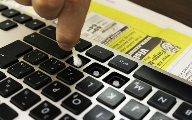 Cách vệ sinh bàn phím laptop Asus  - 2