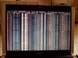 Màn hình laptop Lenovo bị giật chớp sọc dọc ngang nhòe nhiễu - 2