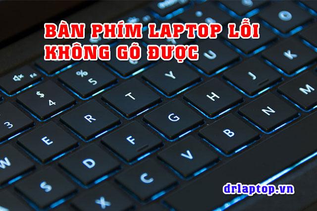 Bàn phím laptop Compaq bị liệt không gõ được chữ - 1