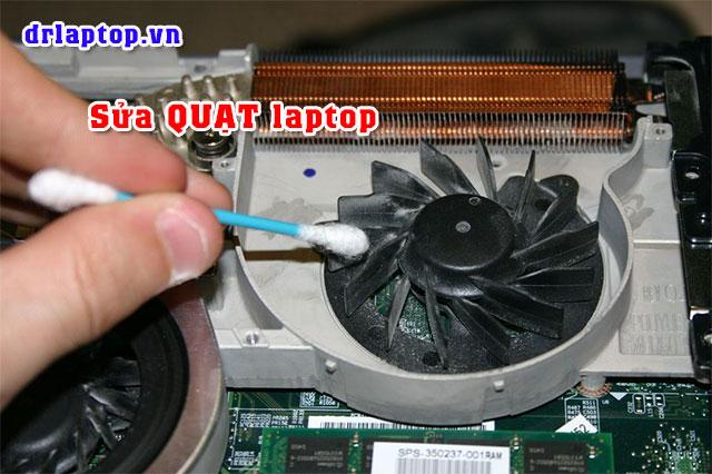 Thay Sửa quạt laptop kêu to máy nóng hoặc không chạy - 2