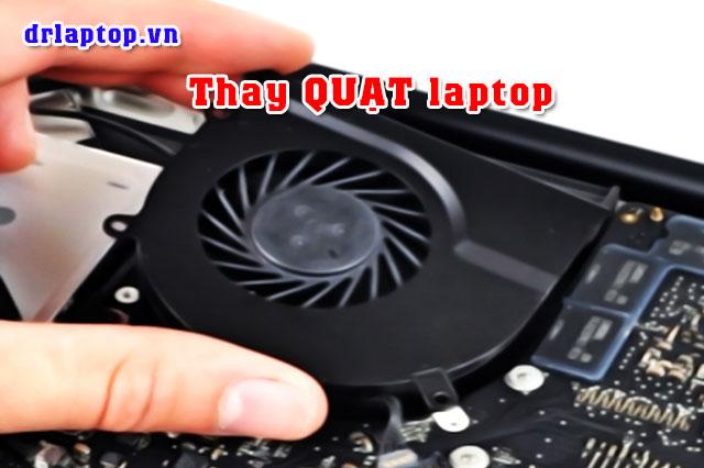 Thay Sửa quạt laptop kêu to máy nóng hoặc không chạy - 1