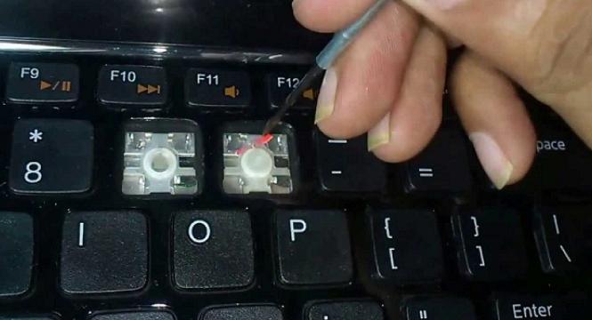 Hướng dẫn sửa chửa bàn phím laptop bị liệt bị chạm phím - 3