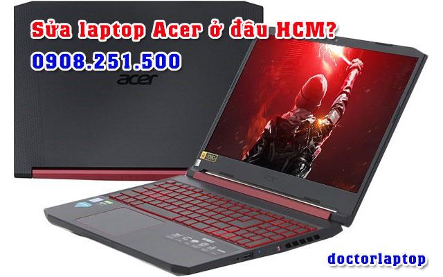 Sửa chữa laptop Acer ở đâu uy tín TP HCM - 1