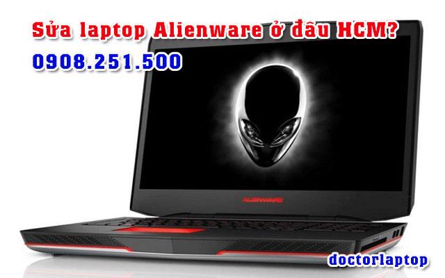 Sửa chữa laptop Alienware ở đâu uy tín TP HCM - 1