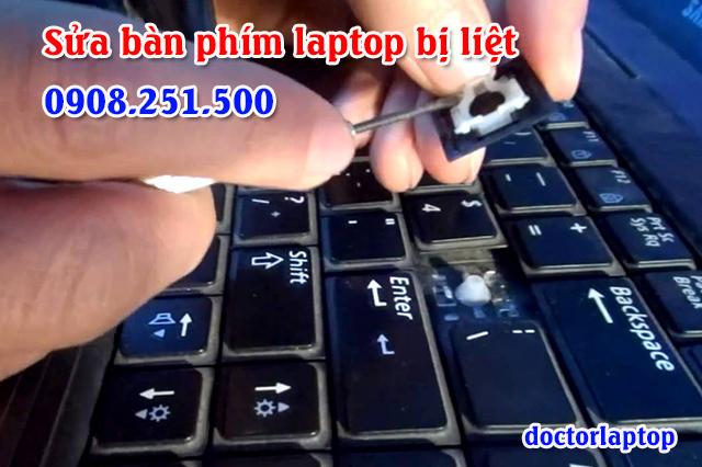 Sửa bàn phím laptop bị liệt không gõ được chữ - 1