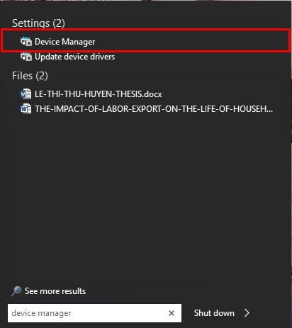 Cách khắc phục lỗi laptop không nhận bàn phím - 3