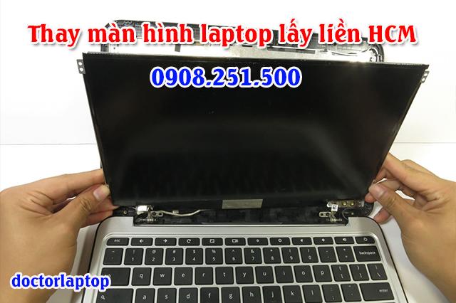 Thay màn hình laptop uy tín lấy liền tại TpHCM - 1
