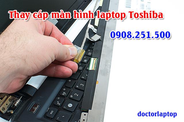 Thay cáp màn hình laptop Toshiba - 1