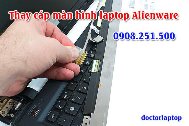 Thay cáp màn hình laptop Alienware - 1