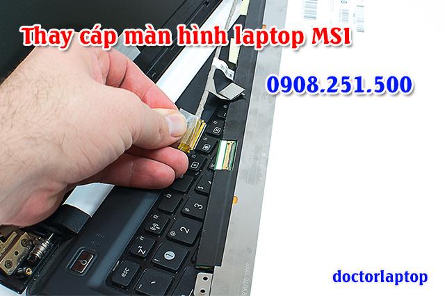 Thay cáp màn hình laptop MSI - 1