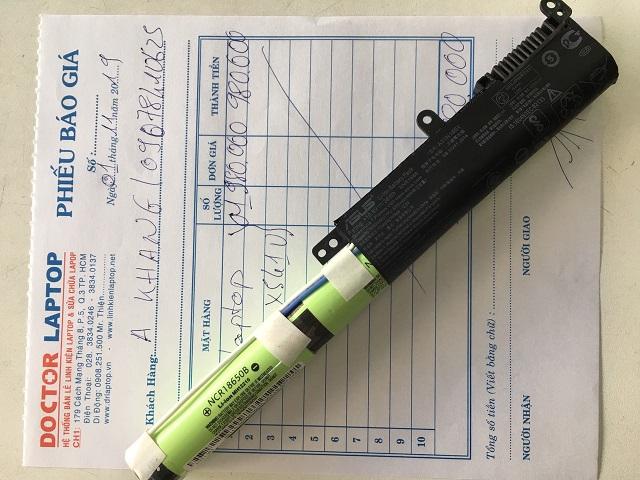Pin Asus X541u  Original  - Doctorlaptop chuyên thay pin Asus x541u tại Tphcm - 2