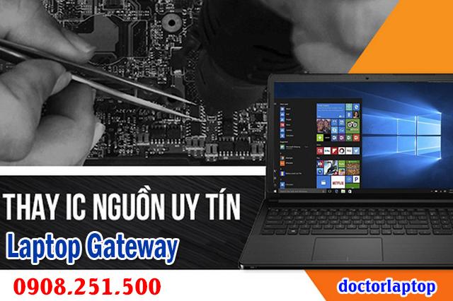 Sửa laptop Gateway hư nguồn hư IC nguồn mở nguồn không lên - 1