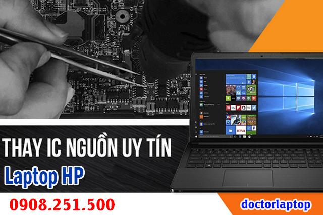 Sửa laptop Hp hư nguồn hư IC nguồn mở nguồn không lên - 1