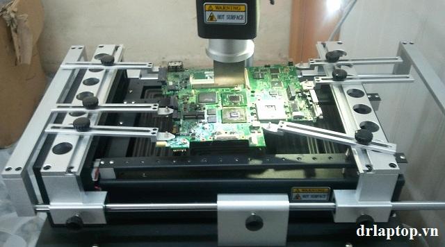 Sửa laptop Lenovo hư nguồn hư IC nguồn mở nguồn không lên - 3