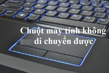 Chuột laptop LG không thể di chuyển được, không click được
