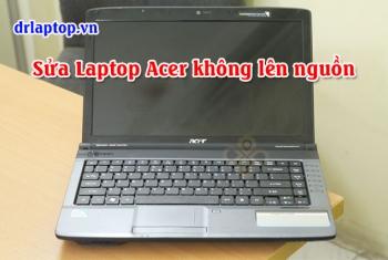 Laptop Acer 4736 4736z không nguồn, kích nguồn đèn sáng rồi tắt