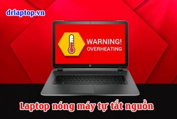 Laptop Compaq chạy nóng tắt, treo máy quạt không quay