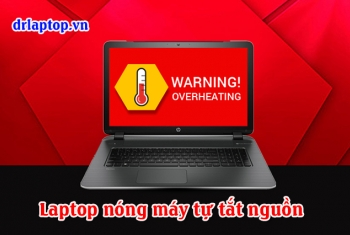 Laptop Gateway chạy nóng tắt, treo máy quạt không quay