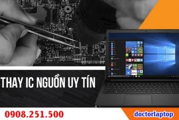 Sửa laptop hư nguồn, hư IC nguồn, mở nguồn không lên