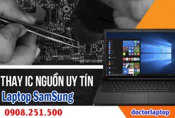 Sửa laptop SamSung hư nguồn, hư IC nguồn, mở nguồn không lên