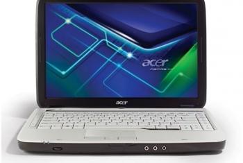 Máy Acer 4710 lcd trắng xoá