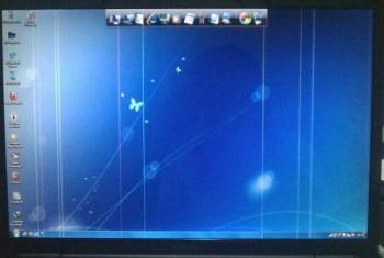 Máy HP DV2000 máy sọc lcd, xé hình