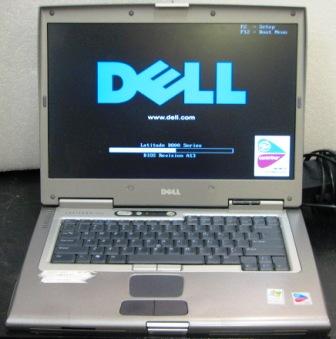 Máy laptop Dell d800 d810 d820 d830 máy không nguồn, không hình