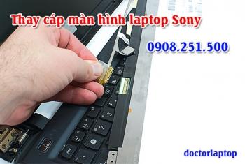 Thay cáp màn hình laptop Sony Vaio