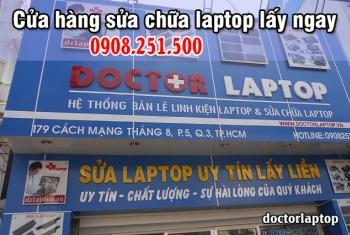 Cửa hàng sửa chữa laptop lấy ngay tại TPHCM