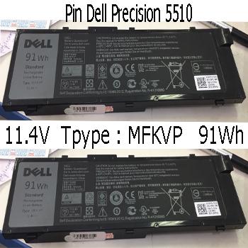 Pin Laptop Dell Precision 7510 ( Zin )