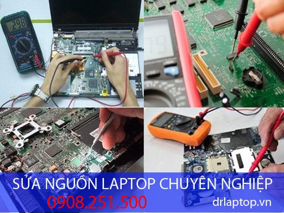 Sửa nguồn laptop uy tín chất lượng tại TPHCM
