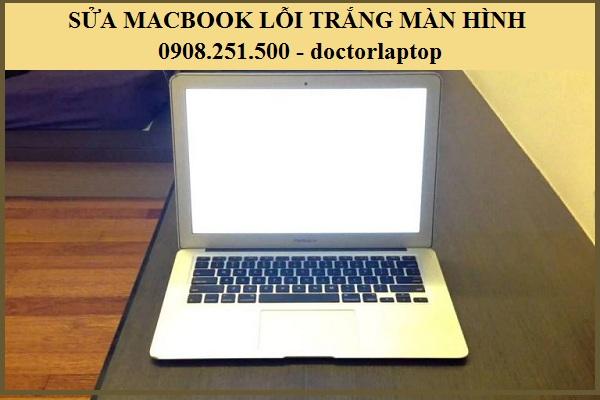 Sửa Macbook khởi động trắng màn hình