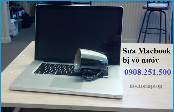 Sửa Macbook bị vô nước HCM
