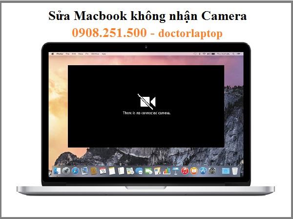 Sửa Macbook không nhận Camera lấy liền HCM