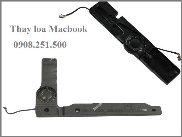 Thay Sửa loa Macbook Air Pro Retina bị rè