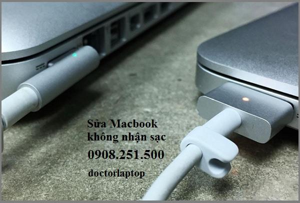 Sửa Macbook không sạc pin uy tín HCM