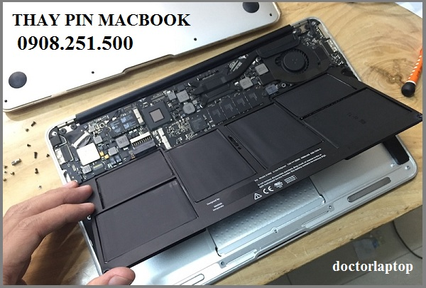 Thay Pin Macbook Air 2014 HCM | Thay Pin Macbook Air Retina 2014 TpHCM