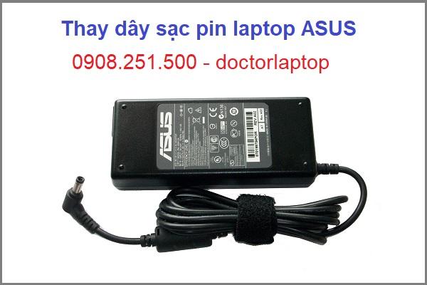 Thay dây sạc pin laptop Asus giá rẻ tại tphcm