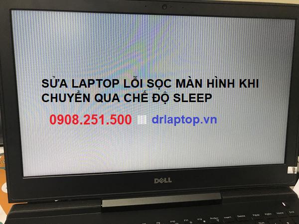 Sửa lỗi sọc màn hình sau khi laptop chuyển qua chế độ Sleep
