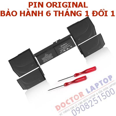 Thay Pin Macbook A1534 HCM | Thay Pin Macbook Pro Retina A1534 TpHCM