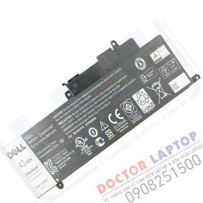 Pin Dell Inspiron 7437 14-7437 HCM | Thay Pin Laptop Dell Inspiron 7437 TpHCM