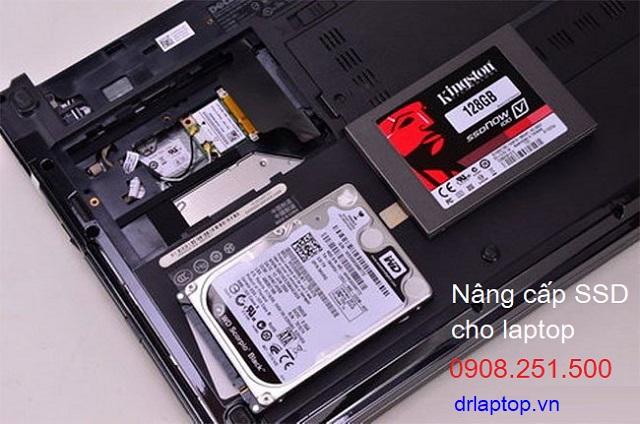 Nâng cấp SSD cho laptop Dell, Asus, HP, Lenovo, Macbook