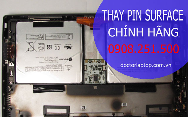 Thay Pin Surface Pro 3 HCM | Thay Pin Chuẩn Cho Surface Pro 3 Tphcm
