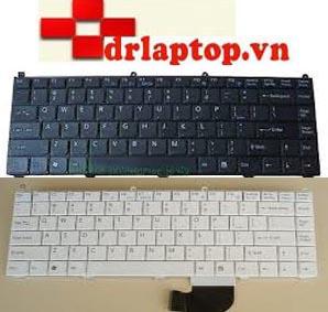 Keyboard Sony Vaio PCG-8W2L PCG-8X1L Laptop Ban Phim - 1